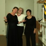 Frau Romberg, Frau Bendandi und Frau Krupp