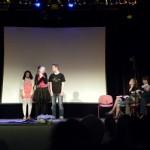 alias Natalia und Marvin mit der Jury: Frau Pikos, Nicolas und Felix