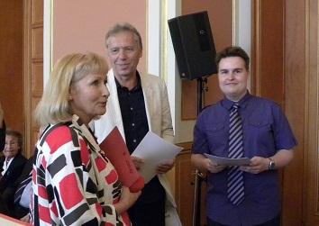 Ehrung durch Staatssekretärin Monika Helbig