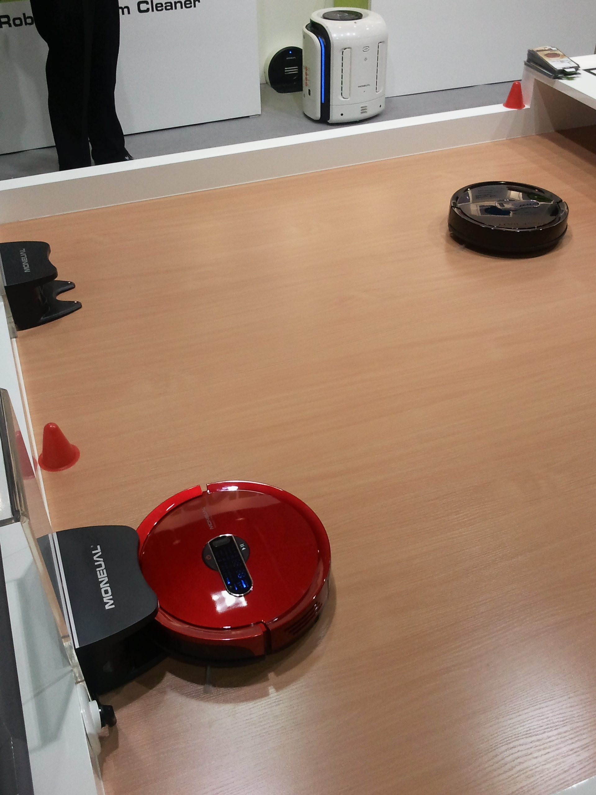 Saub saugende Roboter
